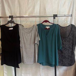 4 XL Dressy or Casual top Bundle